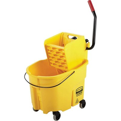 KIT CARRO LIMPIEZA/CUBETA WAVEBRAKE RUBBERMAID_5